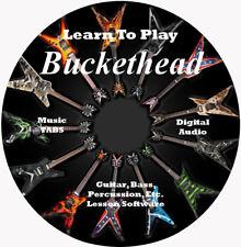 Buckethead 604 Guitar Tab Software Lesson CD + 40 Backing Tracks + BONUS