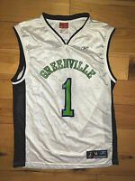 Mens Vintage Reebok Greenville Groove NBDL Basketball Jersey Size Medium M