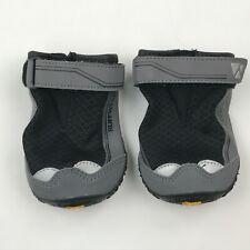 Ruffwear Obsidian Black Grip Trex All-Terrain Paw Wear Dog Boots sz 3.0in 76mm