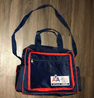 American Airlines Official Airline World Cup 94 Blue And Red Messenger Bag