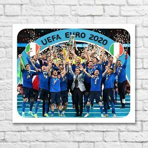 ITALY EURO 2020 winner tin sign Italy team squadra azzurra sign Italy gift sign