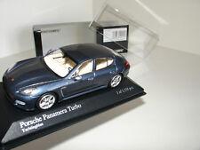 Herpa Wap0207230g Panamera Diesel 4s 1:43 Dark Blue New Original Packaging For Fast Shipping Cars Model Building
