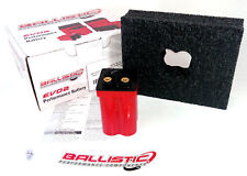 Lithium Battery EVO2 4 Cell Ballistic 103-010 - Motorcycle Applications