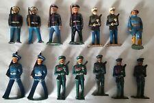 14 Vintage Dimestore U. S. Marines - Barclay, Manoil, Grey Iron