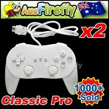 White Video Game Controllers and Attachments