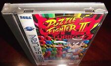 Super Turbo Puzzle Fighter II  [Sega Saturn,1997] Complete Game in Case + Manual