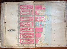 ORIGINAL 1906 E. BELCHER HYDE MIDTOWN EAST SIDE MANHATTAN NEW YORK ATLAS MAP