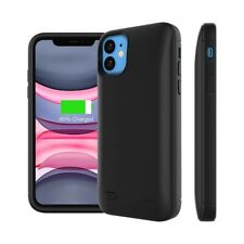 Black 6200mAh Battery Charging Case Portable External Battery Case For IPhone 11