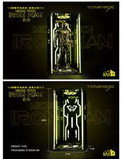 Toys-box 12'' Soldier 1/6 Iron Man Gennaku 4.0 MK6 Create Wars 2.0 Yellow Light