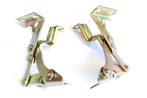 MAZDA RX4 929 COUPE POINTY NOSE & RX2 CAPELLA  4 BONNET HOOD HINGES LEFT & RIGHT