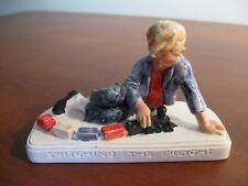 Porcelian Figure - Switching the Freight - Sebastian Miniatures