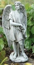 64379 Male Guardian Angel Garden Statue 14 inch New