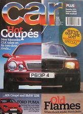CAR 07/1997 featuring Ferrari, Mercedes, Peugeot, BMW, Datsun 240Z, Porsche GT1