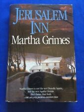 JERUSALEM INN - FIRST EDITION BY MARTHA GRIMES