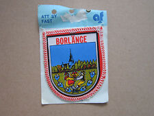 Borlange Woven Cloth Patch Badge