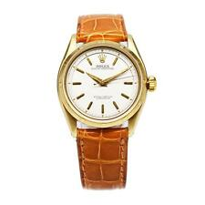 1956 Rolex 14K Gold Oyster Watch Rare Reference 6585