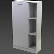 Bathroom Storage Cupboard Unit Cabinet Shelves Under Sink Basin White Furniture