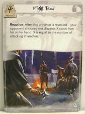 Legend of the Five Rings LCG - 1x #021 Night Raid - Base Set