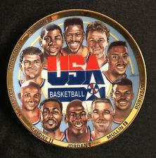SPORTS IMPRESSIONS USA BASKETBALL COLLECTORS MINI PLATE 1992  MIP