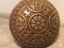 Antique Corbin Bronze Door Knob Handle Ornate