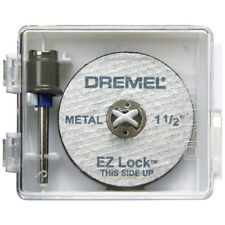 Dremel Cutting Wheels 6 Piece Steel Cut Off Mandrel Rotary Tool Accessory New