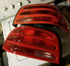 1994 1995 MUSTANG TAILLIGHT PAIR RED OEM USED FORD PART