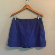 WOMENS ADIDAS STRETCH Golf Exercise Tennis Skirt Skort Navy BLUE SIZE 8 F19