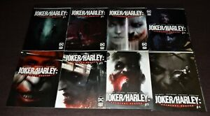JOKER/HARLEY: CRIMINAL SANITY  8-Issue Set + SECRET FILES One-Shot