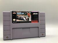 Newman Haas Indycar Featuring Nigel Mansell (Akklaim) Super Nintendo SNES XT