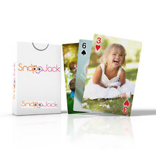 Personalised Playing Cards with different Photo to Each Card