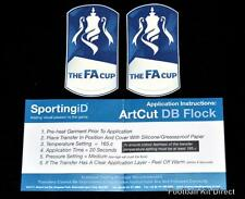Official FA Cup Football Shirt Badge/patch Cup 2014/15 Sporting ID Arsenal