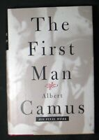 The First Man By Albert Camus HB/DJ 1st edition in English 6th printing FINE/VG+