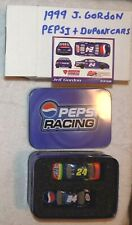 Jeff Gordon 1/64 1999  Dupont and Pepsi Tin