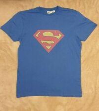PRIMARK Men's SUPERMAN DC COMICS Logo T Shirt Tee Top UK XS - L New