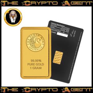 🌟1 Gram Gold Bullion Bar - Perth Mint🌟