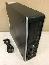 Hp Compaq 8000 Elite Sff Pc Intel Core 2 Duo E8400 3.00Ghz 2Gb DVDRW 500GB Works