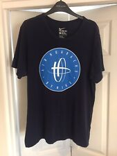 Men's Blue Air Huarache T-Shirt Size Large Air Max Hurache Top Uk Large Worn Use