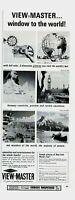 1964 ORIGINAL VINTAGE SAWYERS VIEW-MASTER PROJECTOR  MAGAZINE AD