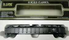 K-Line K652-1751 DieCast Oscale wScrapLoad DblSprungTrks 52' NYC Gondola 502351