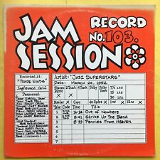 Jazz Superstars - Jam Session Recorded at Trade Winds - Record No.103 - JS103 Ex