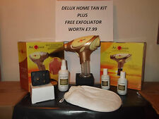 Air Tan home Pro tanning airbrush comlete gift set. spray fake sun tanner & 3 B