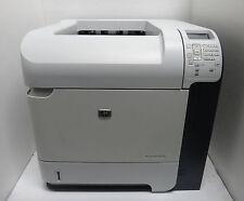 HP LaserJet P4515n  Laser Printer, Print Speed: 62 ppm, low page count