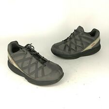 MBT Womens Size 38 Black Gray Toning Athletic Walking Sport Sneakers