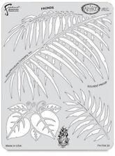 """Iwata-Medea Kustom FX4-23 Craig Fraser Airbrush Paint Stencil/Fronds  7 1/2""""X10"""""""