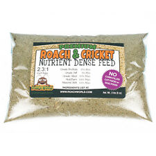 Premium Roach Chow for Dubia & Crickets - Super Foods - Ca:P Balanced - .5 lbs