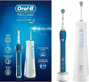 Oral-B Pro 2000 Oral Center Zahnbürste Oral B Pro 2000 und Aquacare 4