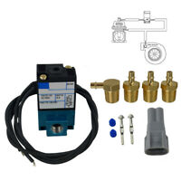 ECU 3 Port Electronic Turbo Boost Control Solenoid Valve 12V 120PSI 5.4WATTS