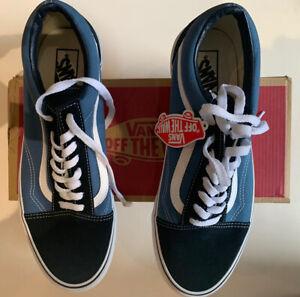 Vans Old Skool Blue UK Size 10