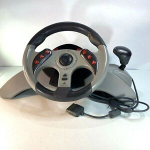 1999 Mad Catz MC2 Racing Steering Wheel for PS1/PS2 PlayStation 1 & 2