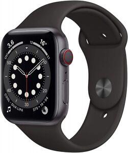 Apple Watch Series 6 LTE Cellular Space Grau Aluminium 44mm Sportarmband NEU OVP